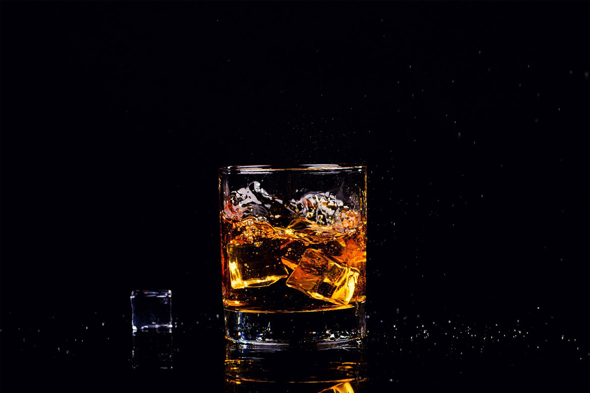 Glenlivet on the rocks