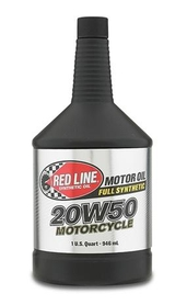 20W50 Motorcycle Oil Quart