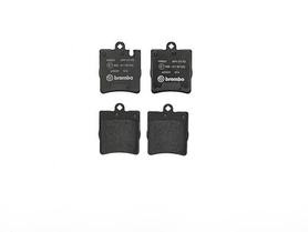 Rear Brake Pad, MB, W203/00-07/W210 /96-02/R171/05-11/ , OE 0034202820