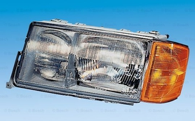 W201 Mercedes Benz Headlight