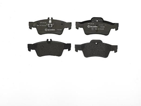 Rear Brake Pads, MB, W211 / 212/ 220 / 221/ C218/ 219/ R320, OE 0034205120