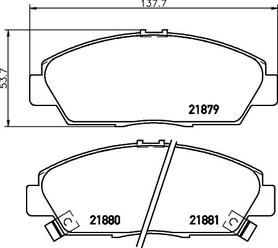 Brake Pad Set, disc brake