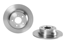 Rear Brake Disc, MB, W211 /02-08/ 212/09-UP / 4 CYL, OE 0004231012