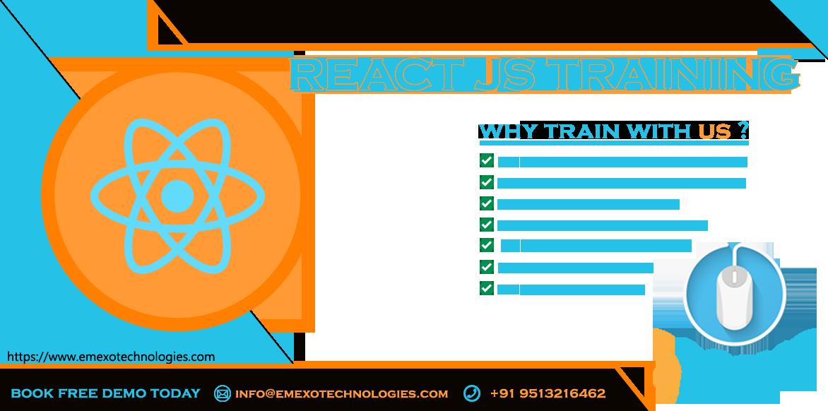React Js Training in Electronic City, Bangalore Tickets by eMexo  Technologies, 30 Jul, 2019, Bengaluru Event
