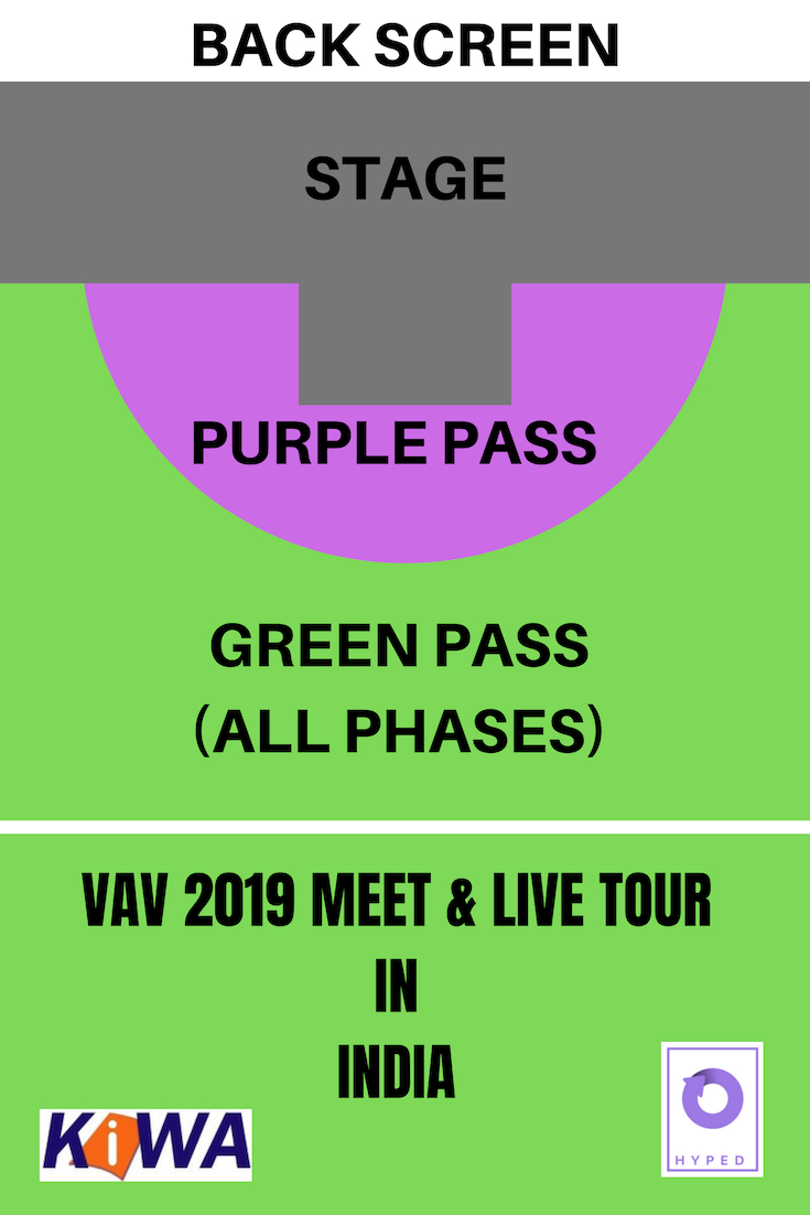 VAV 2019 MEET & LIVE TOUR IN INDIA - DELHI Tickets by HYPED
