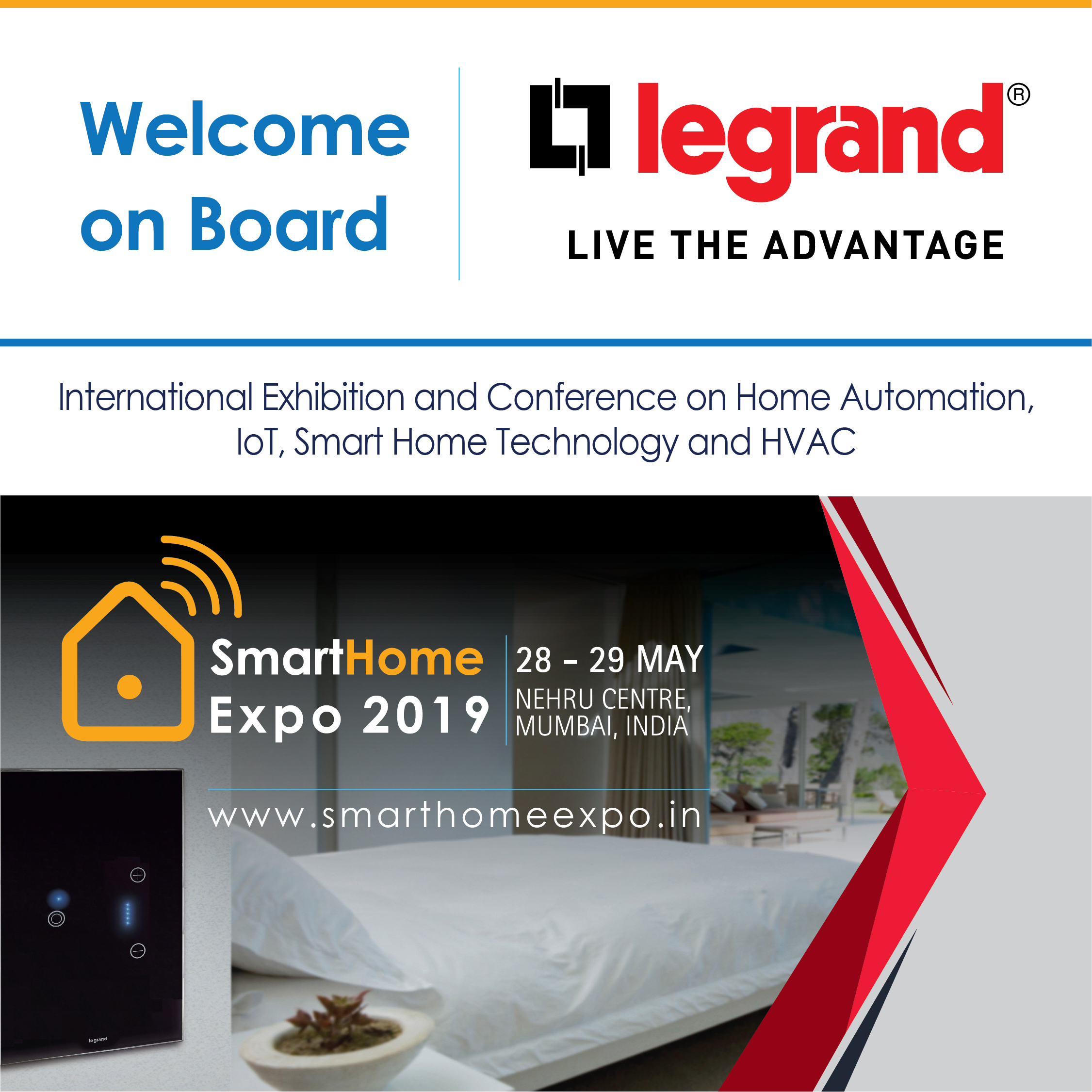 Smart Home Expo 2019 Tickets by World media & Expo LLP, 28