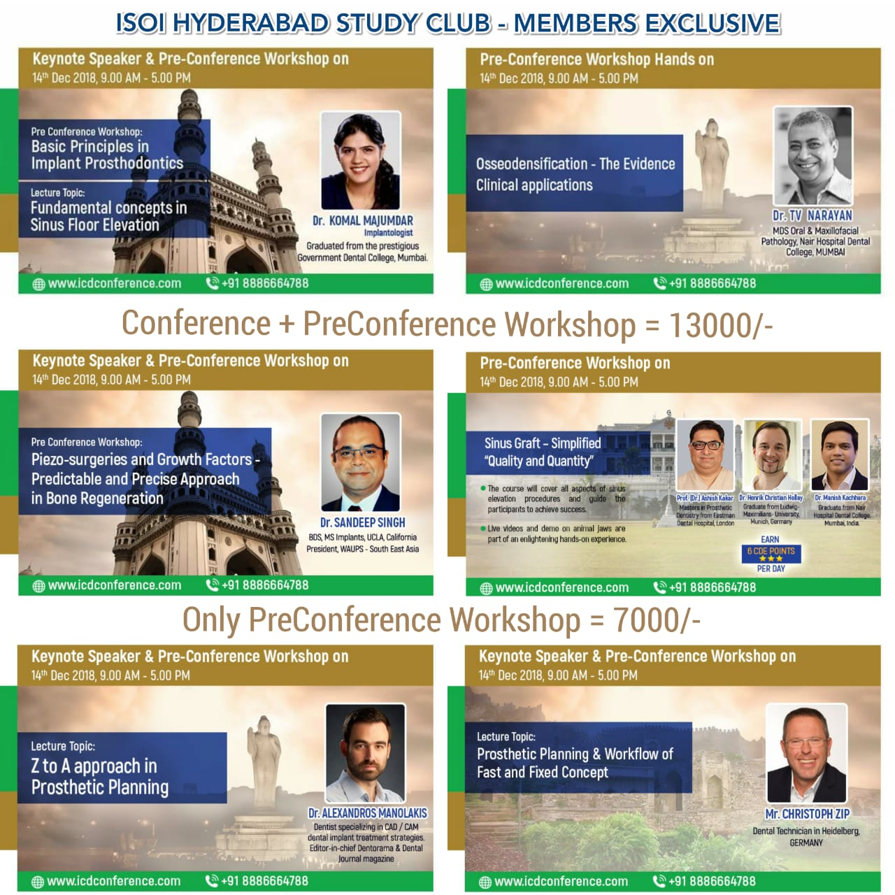 ICD Conference(International College of Dentists conference) Tickets by  Dr Asra, 14 Dec, 2018, Hyderabad Event