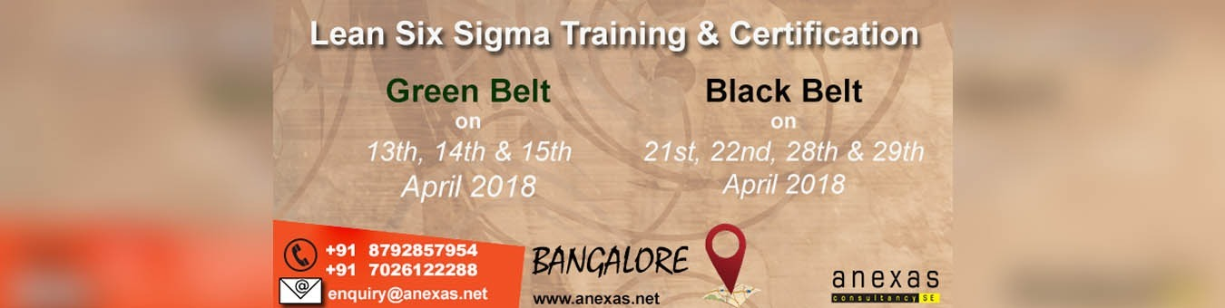 Lean Six Sigma Black Belt Training And Certification In Bangalore