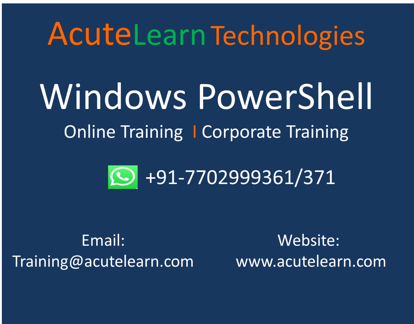 Windows PowerShell Demo session on 11-Mar-19 i e  Monday at
