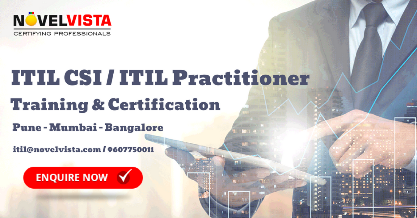 Get Trained Certified On Itil Csi Itil Practitioner Pune Tickets