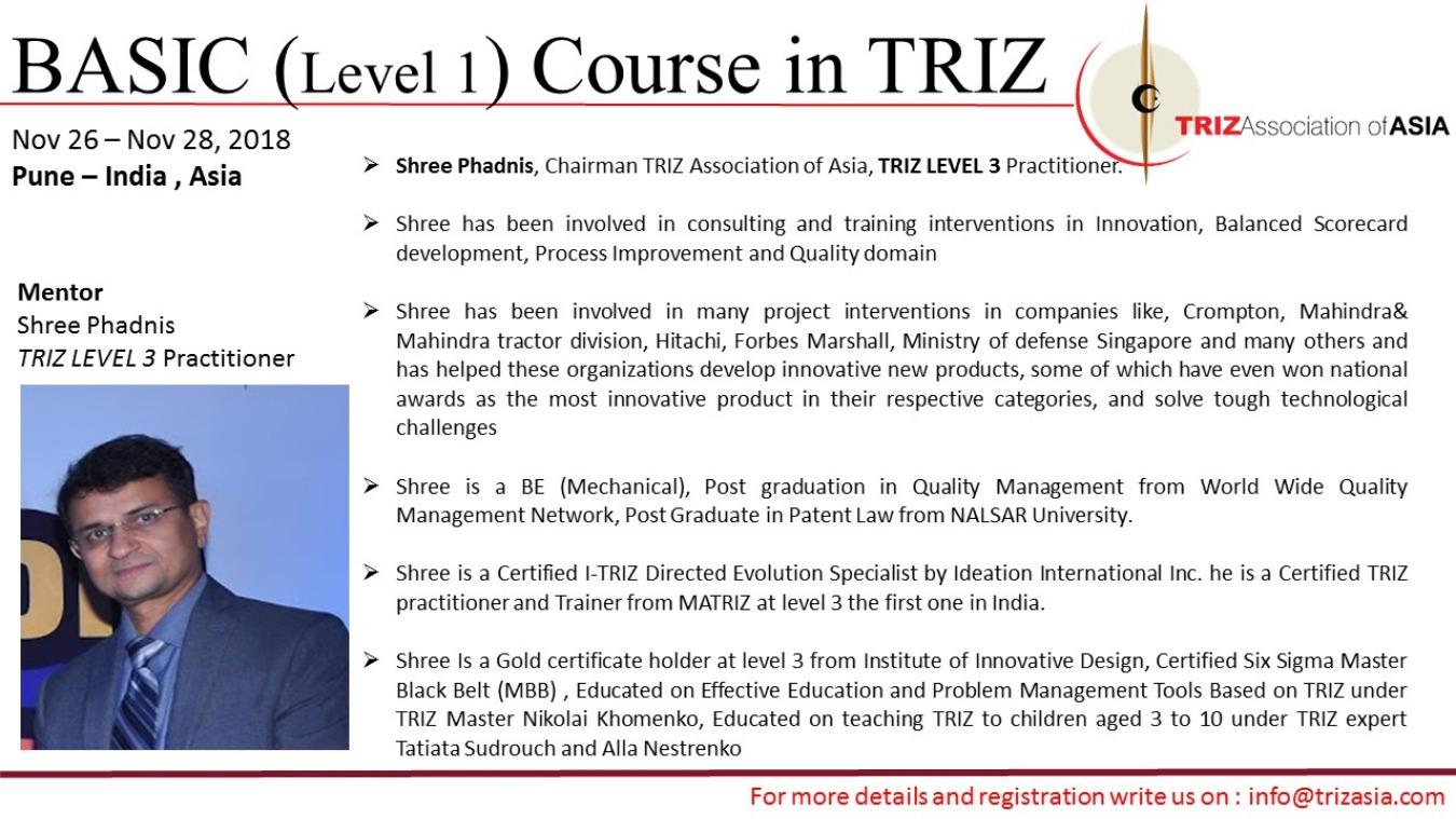 Triz master thesis