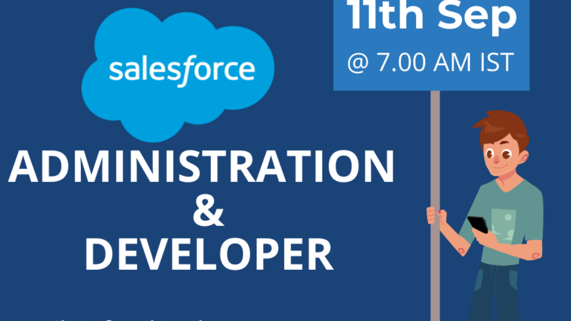 Salesforce Administration & Developer Training From 11th