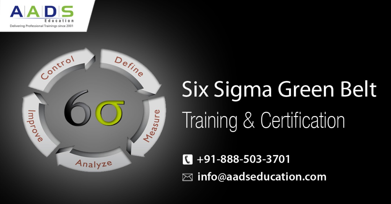 Six Sigma Green Belt Training And Certification In Bangalore Tickets