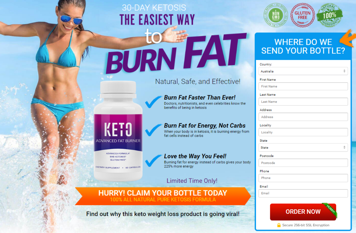Keto Advanced Fat Burner Tickets by Keto Advanced, Tuesday, April 02, 2019,  Online Event
