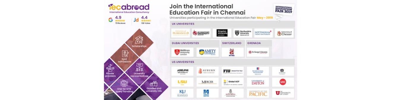 INTERNATIONAL EDUCATION FAIR 2019 Tickets by IEC