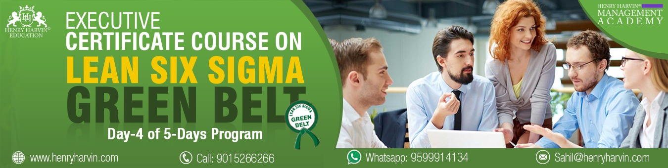 Lean Six Sigma Green Belt Course By Henry Harvin Education Tickets