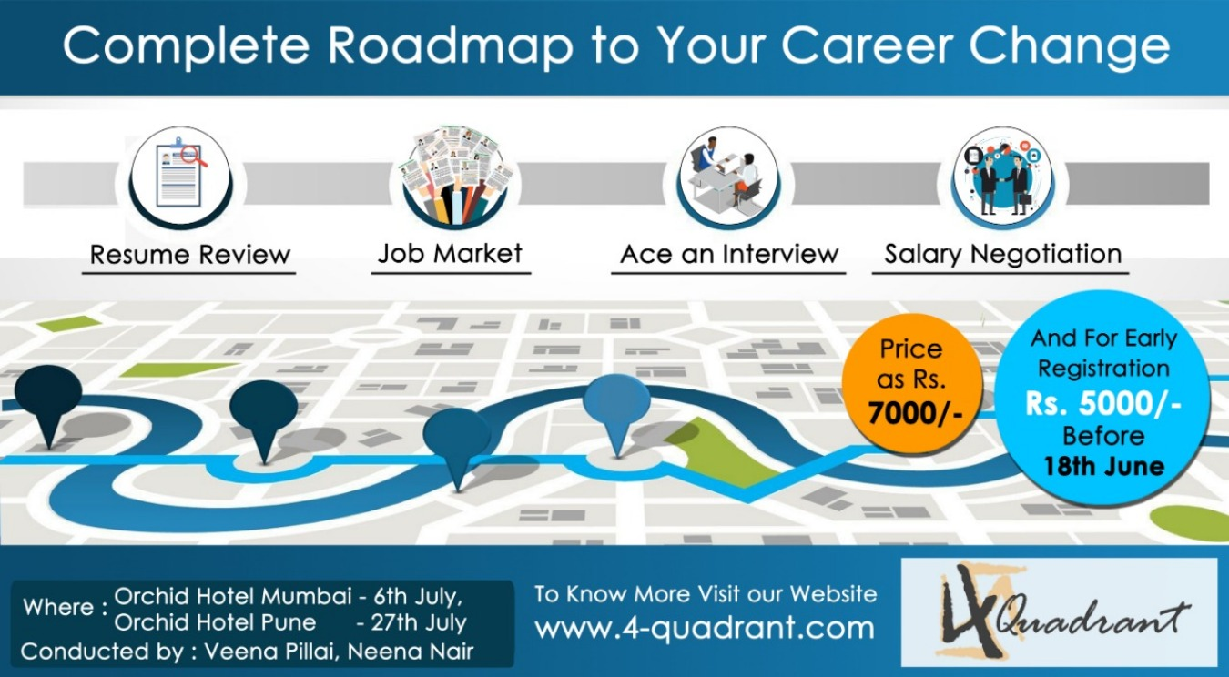 Complete Road-map to Career Change Tickets by
