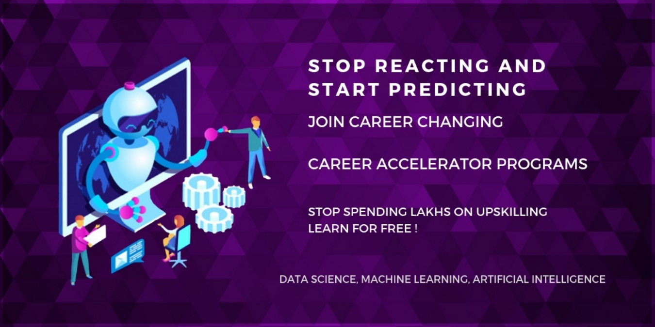 Learn Data Science for Free First Analytics Accelerator Tickets