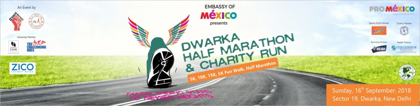 6th Dwarka Half Marathon & Charity Run | Event in Dwarka | Coach Ravinder | Townscript