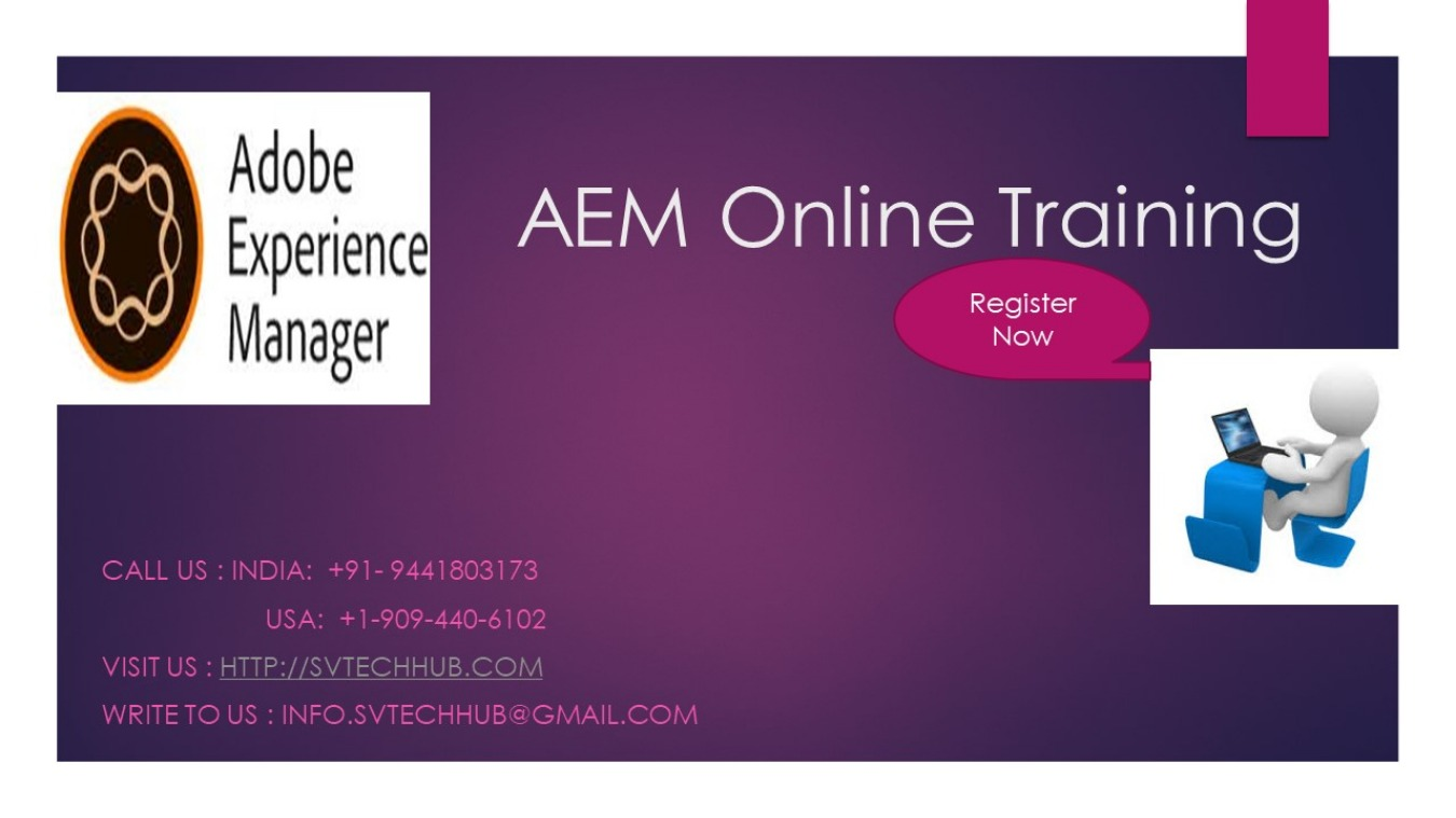 AEM Training Classes by Experts Tickets by hebbapatel, 10