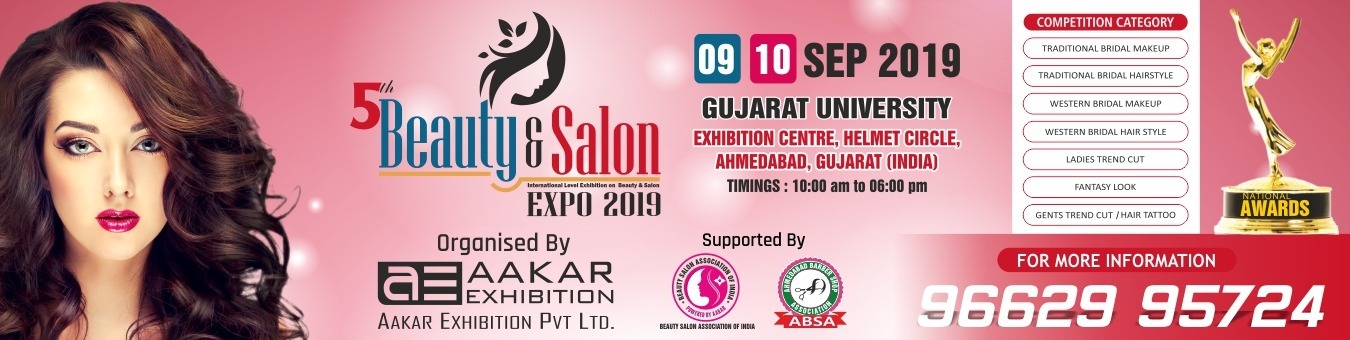 Beauty & Salon Expo Tickets by Aakar Exhibition, 9 Sep, 2019