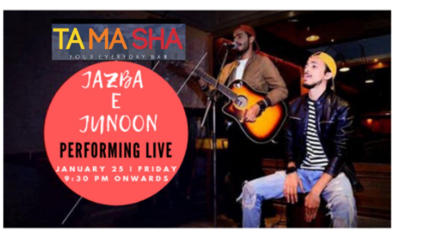 Jazba e Junoon- Performing LIVE at 'TAMASHA' Connaught
