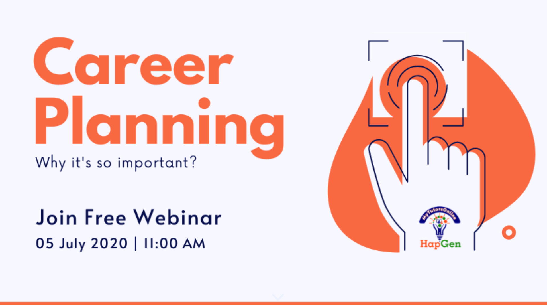 Why Career Planning Is Important Tickets By Mytutorsonline Hapgen Educational Services Friday June 05 2020 Online Event