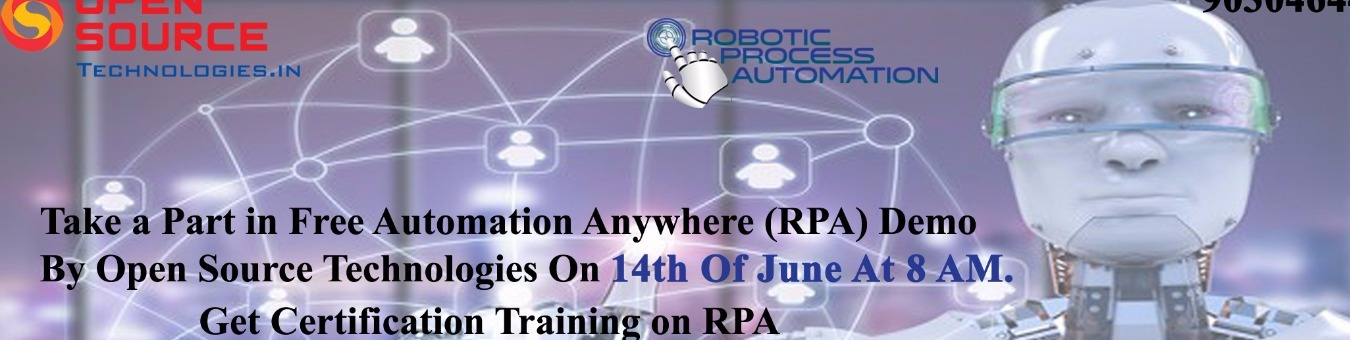 Automation Anywhere Rpa Demo By Open Source Technologies Tickets