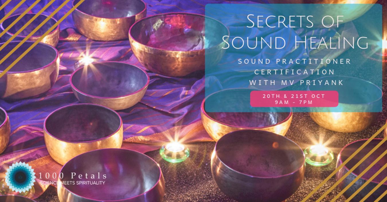 Sound Healing Practitioner Certification With Mv Priyank Tickets