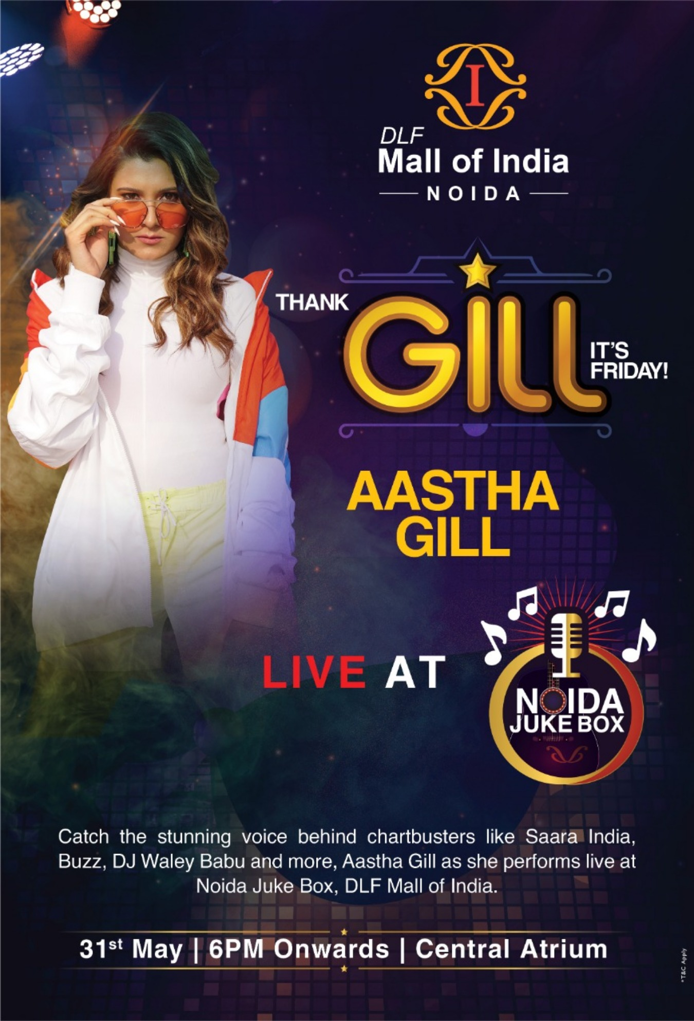 Summer Grooving with Aastha Gill Tickets by Sakshi Agrawal