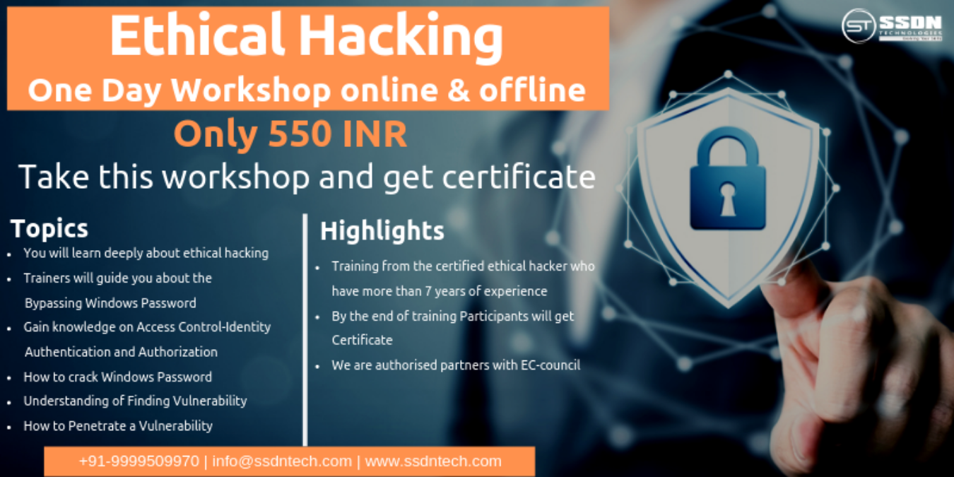 Ethical hacking Workshop in Gurgaon Tickets by Shanaya, 28