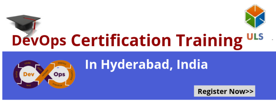 DevOps Certification Training Course in Hyderabad, India Tickets by ulearn  systems, 13 Jul, 2019, Hyderabad Event