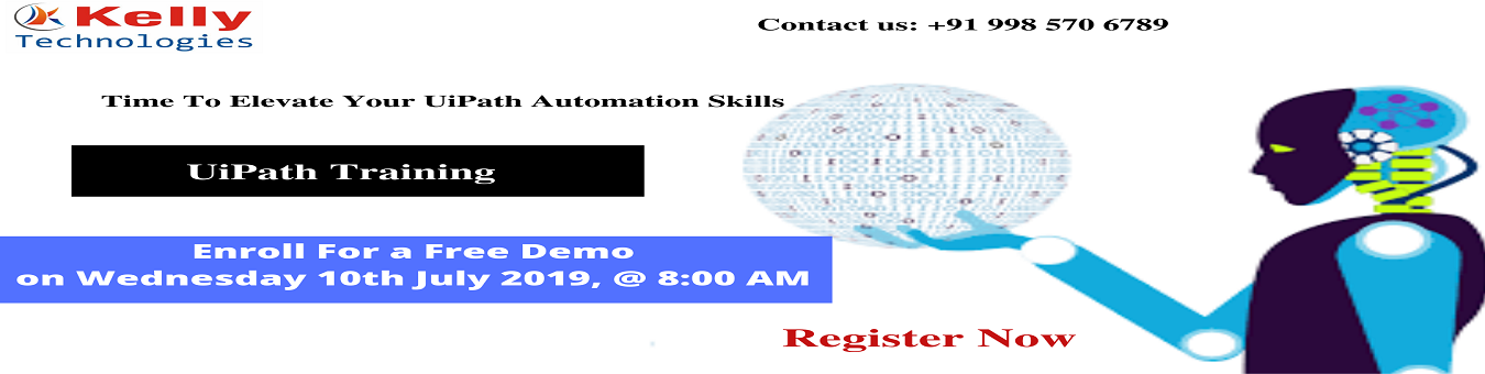 Hurry Up & Enroll For Free Demo On UiPath Training and