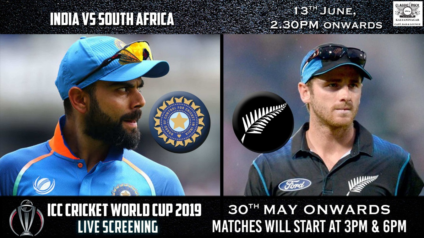 World Cup Screening LIVE At Classic Rock Kalyaninagar Tickets by Classic  Rock Coffee Co , Pune Event
