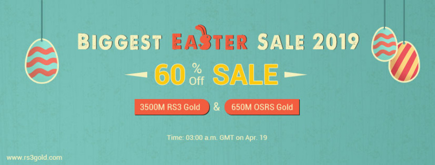 Guilded Eggstravaganza &get RS3gold 60% off 3500M runescape 3 cheap gold on  Apr19 Tickets by rose, 17 Apr, 2019, West Hollywood Event