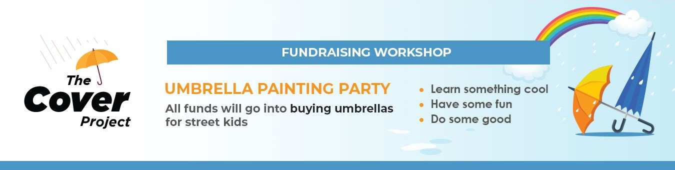 8f35d72b37e88 Umbrella Painting Workshop Tickets by The Cover Project, 13 Jul, 2019,  Mumbai Event