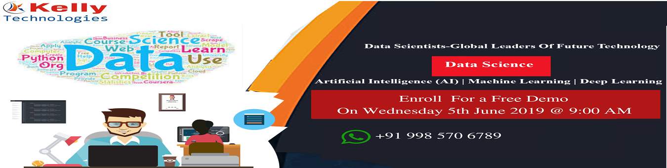Free Demo On Data Science Training in Hyderabad By Kelly