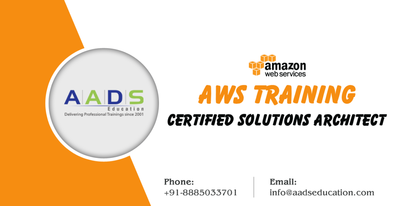 AWS Certification Training in Mumbai - Become AWS Solutions Architect  Tickets by Aads Education, 1 Dec, 2018, Mumbai Event