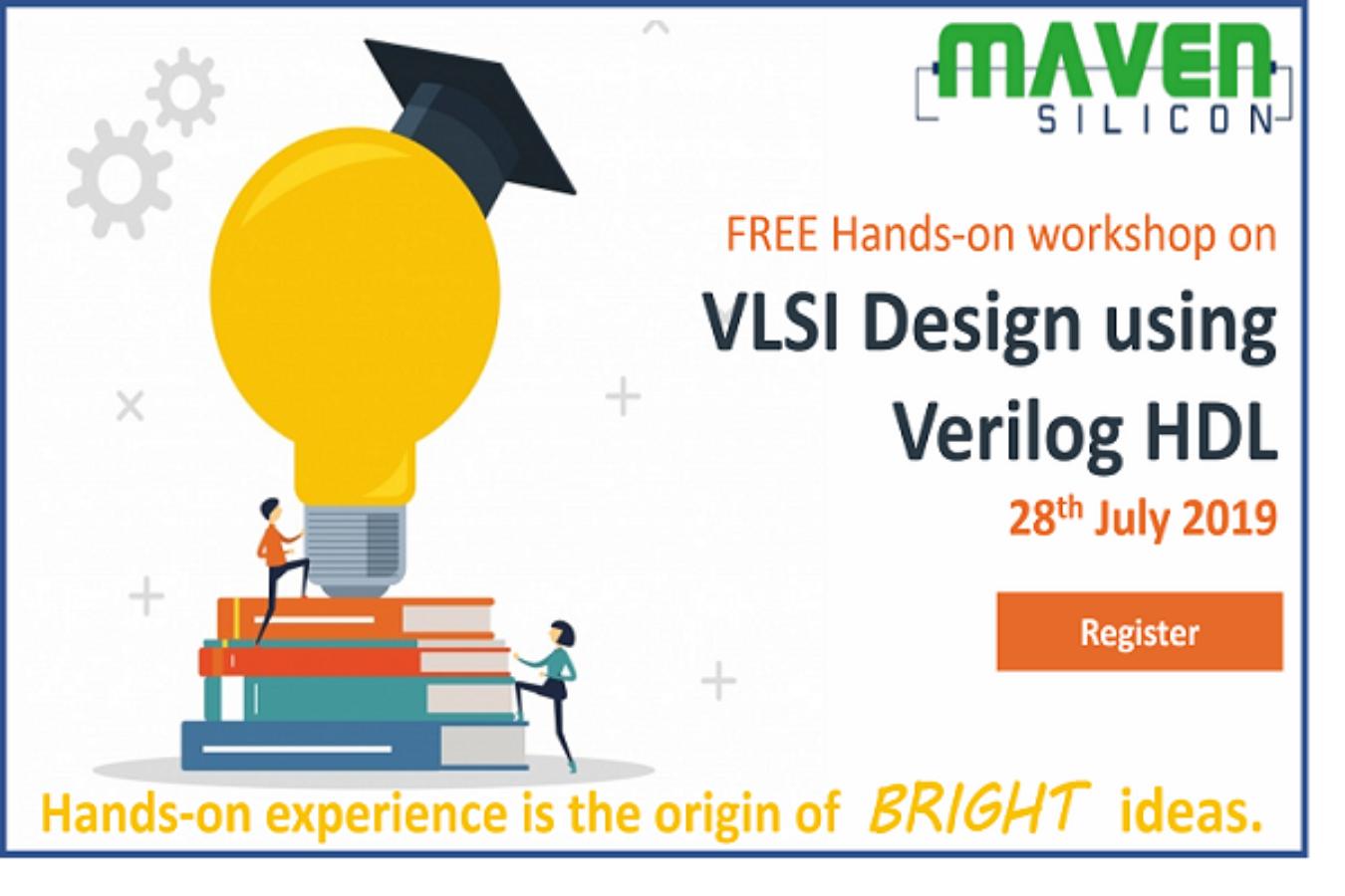Join us for a FREE Hands-on Workshop on VLSI Design using