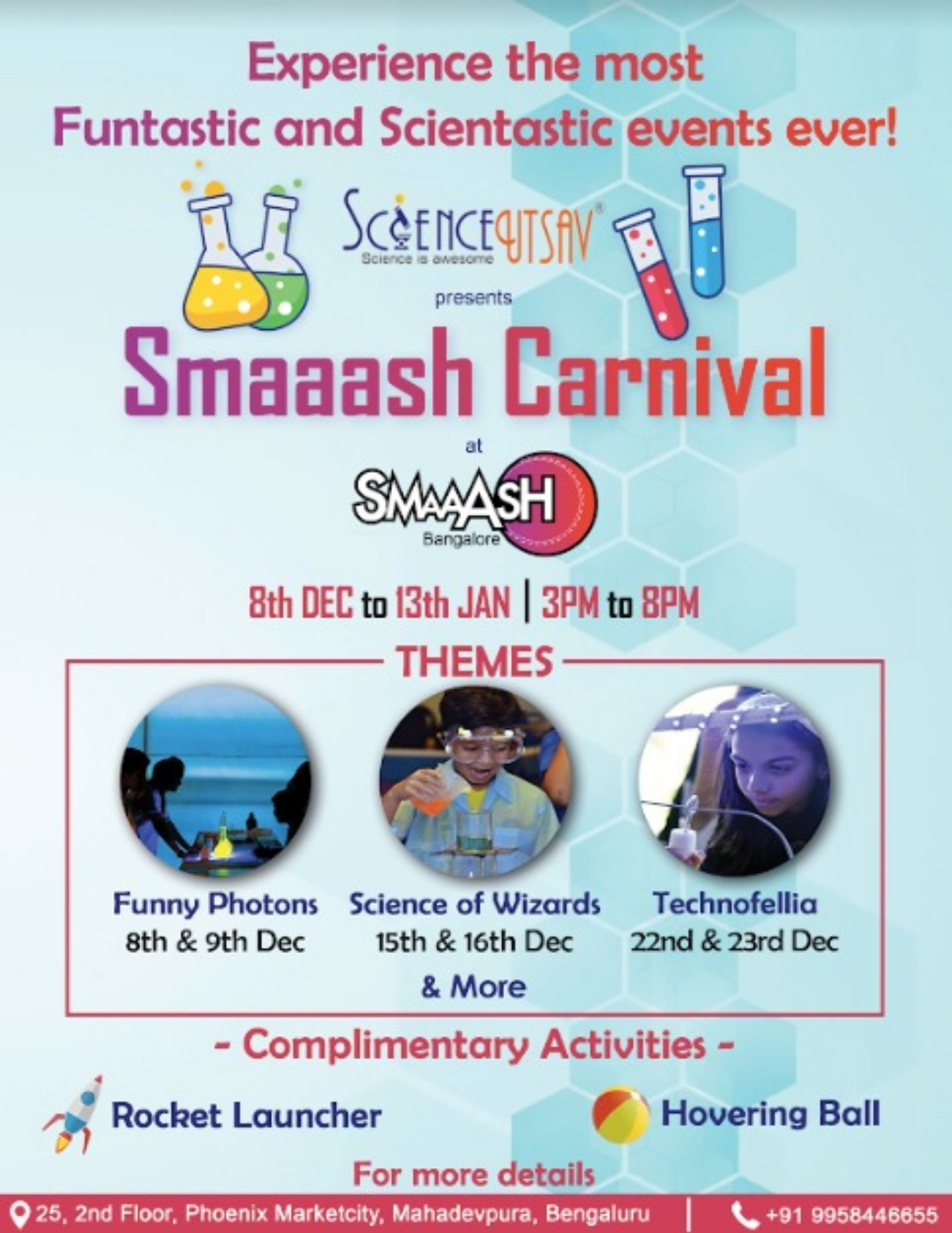 FREE Weekend Fun Science Carnival for Kids Tickets by