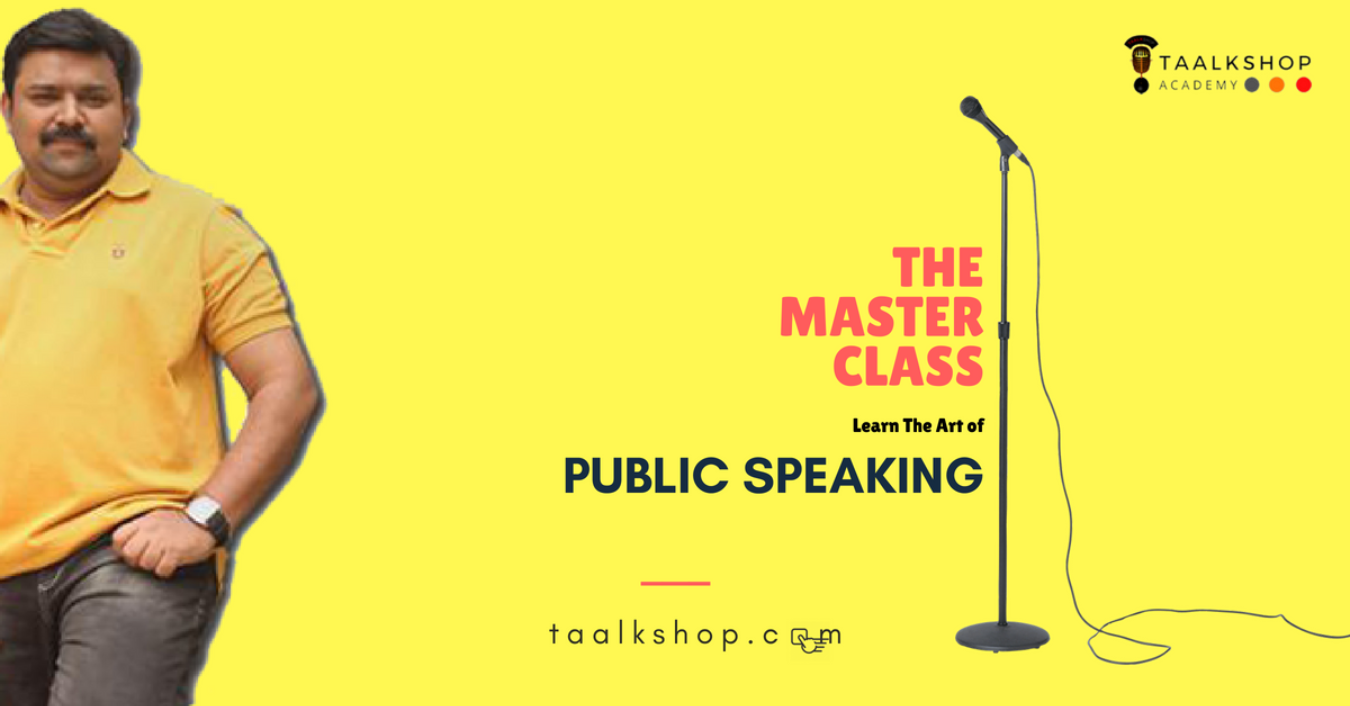 Redefine - The Art of Pubic Speaking Tickets by Taalkshop, 9 Sep, 2018,  Chennai Event