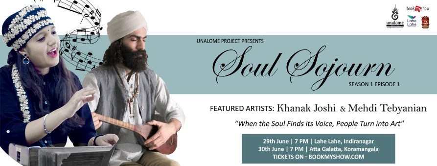 Soul Sojourn S01E01 Tickets by Unalome Project, 29 Jun, 2019, Bengaluru  Event