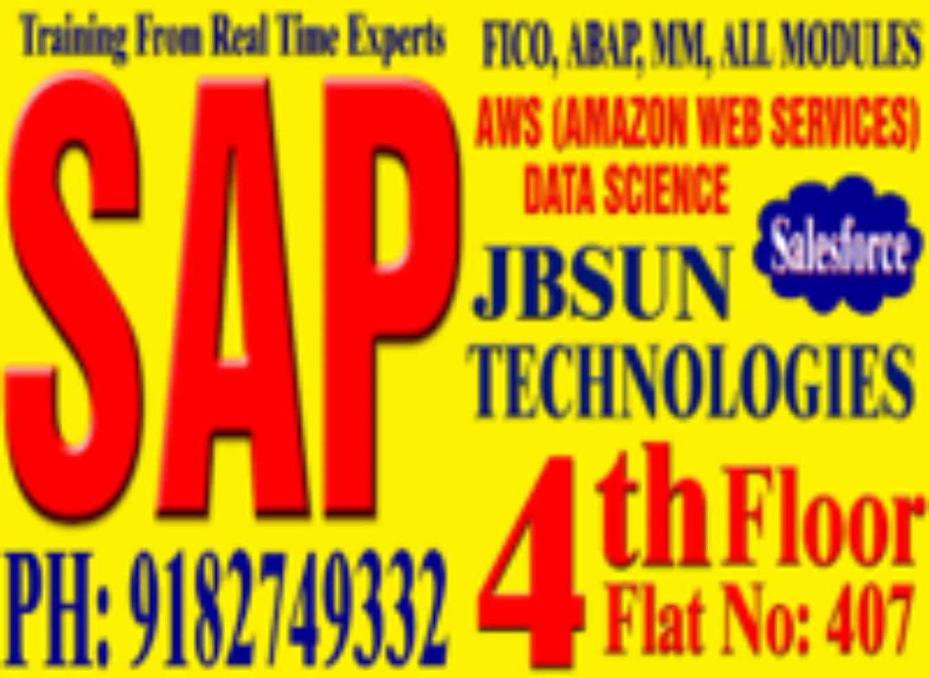 Jbsun technologies sap training institute at Chandanagar Tickets by  JBSUNTECHNOLOGIES, 19 Dec, 2018, Hyderabad Event