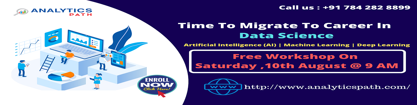 Attend Free Workshop On Data Science Training On Saturday, 10th