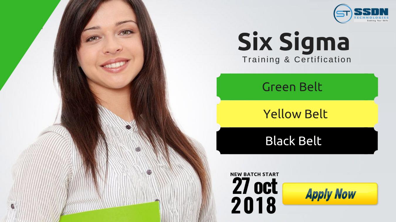 Registration Free Six Sigma Green Belt Yellow Belt Training