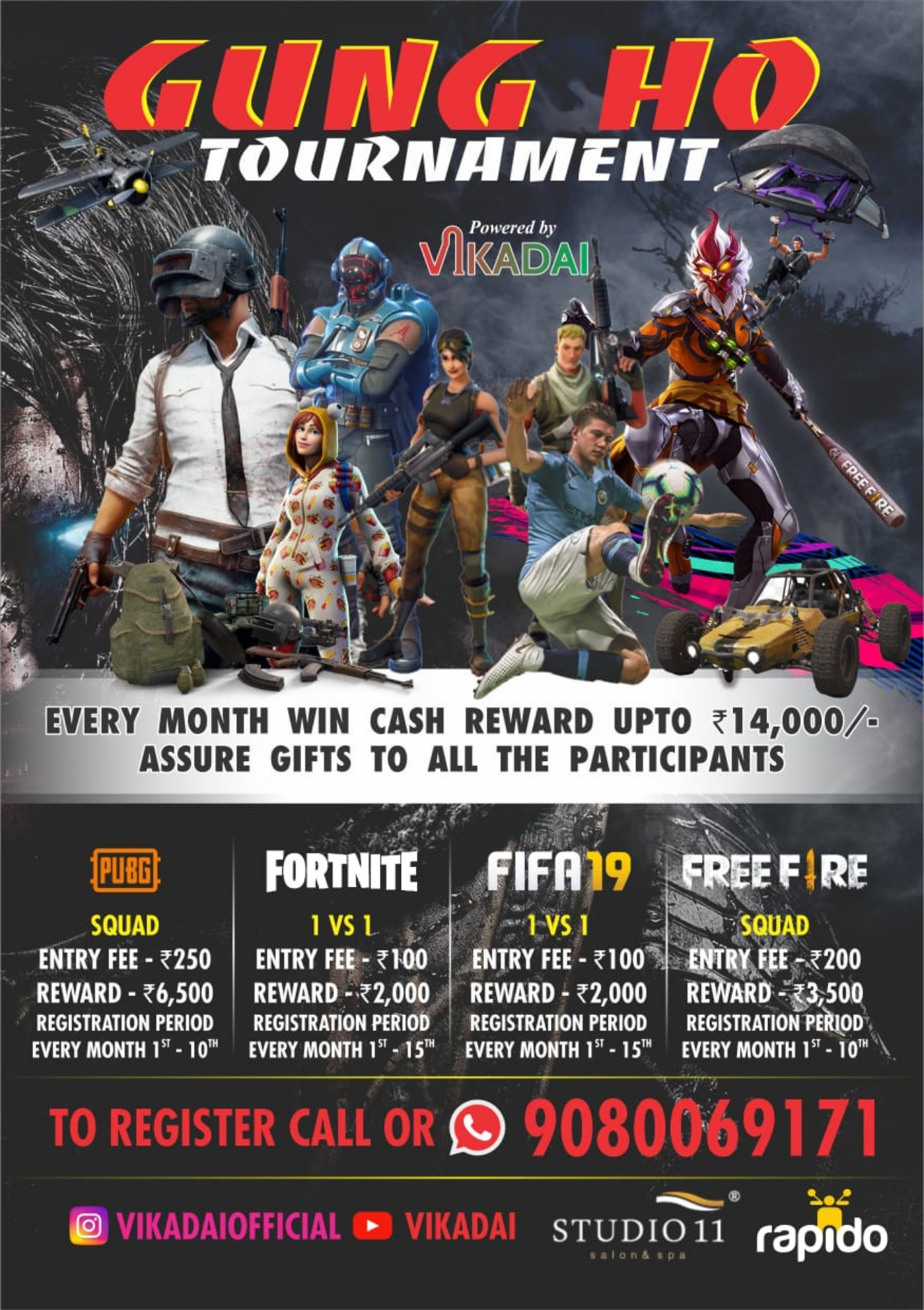 Upcoming Gaming Events in India Ticket Price, Dates & Venue