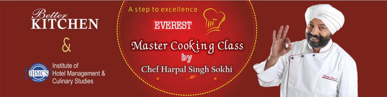 Everest Master Cooking Class by Chef Harpal Singh Sokhi Tickets by  Bandwagon Media, Jaipur - 302020 Event