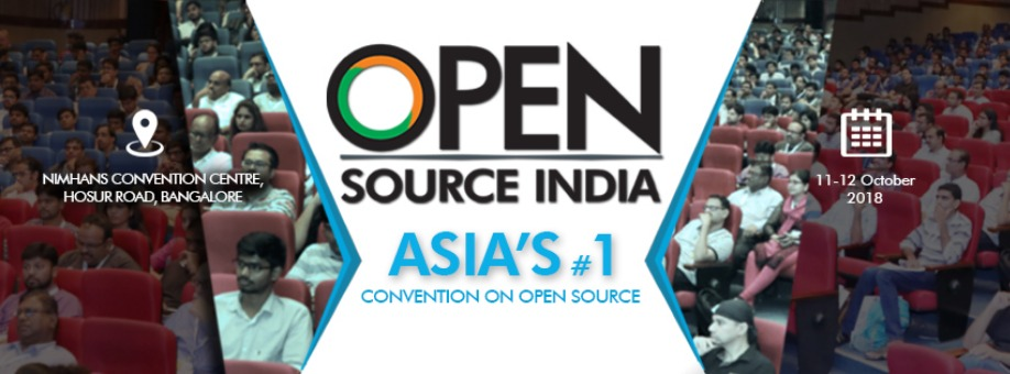 Open Source India 2018 Tickets by EFY Group, 11 Oct, 2018, Bengaluru Event