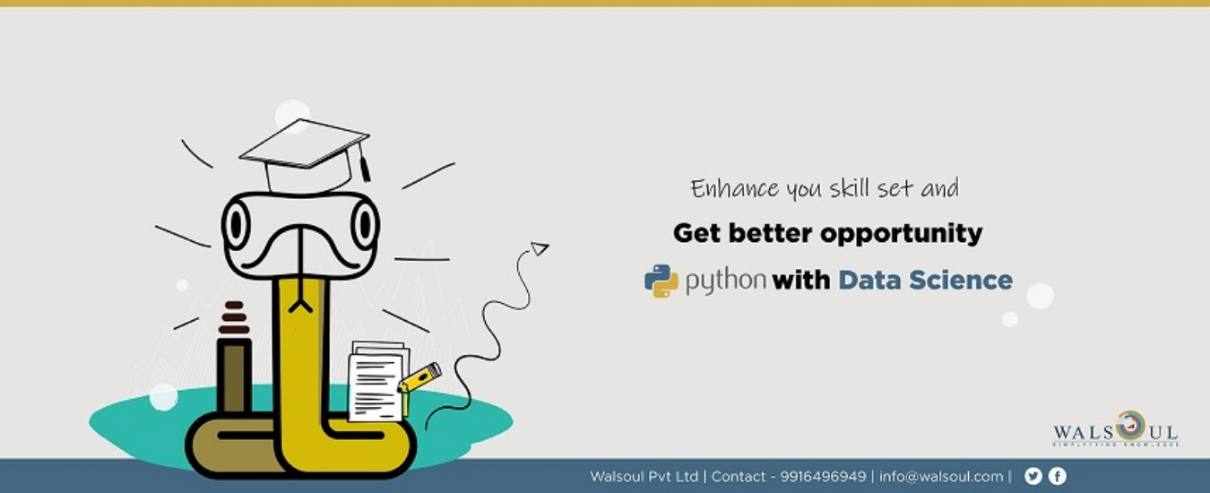 Python with Data Science Tickets by Walsoul Pvt Lt, 2 Dec, 2019, Bengaluru  Event