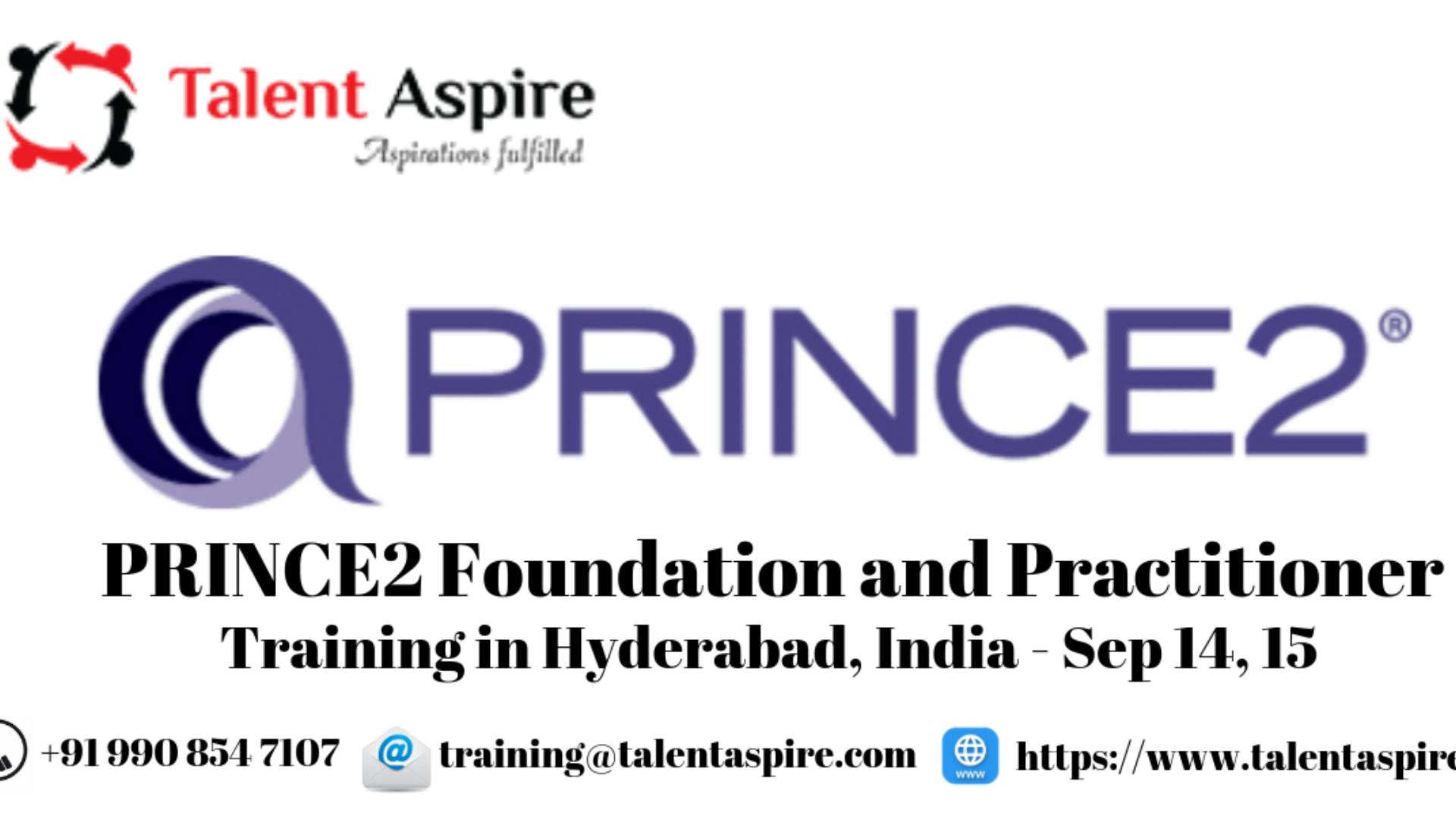 PRINCE2 Foundation and Practitioner Training in Hyderabad